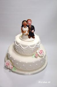 bruidstaart W Merkestijn 14 februari